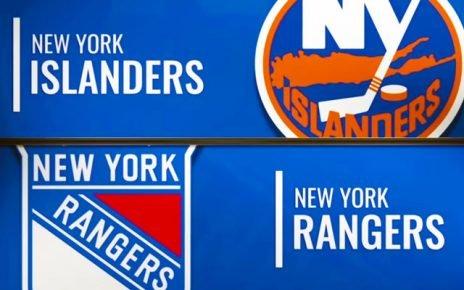 NHL match Islanders and Rangers