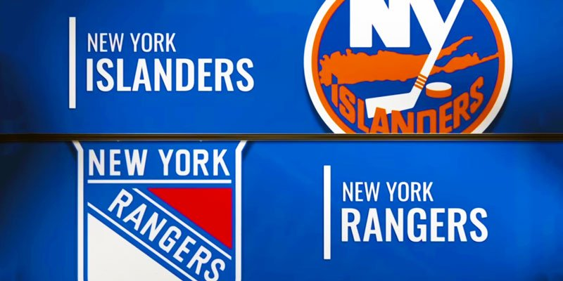 NHL match Islanders and Rangers