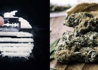 Cocaine and marijuana