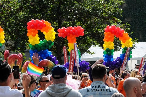 Pride Parade in Middletown