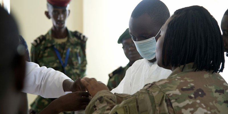Death from Ebola in Congo